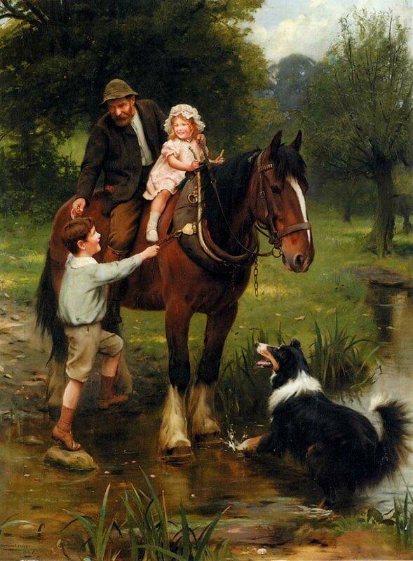Arthur John Elsley (20 November 1860 - 19 February 1952) was an English painter