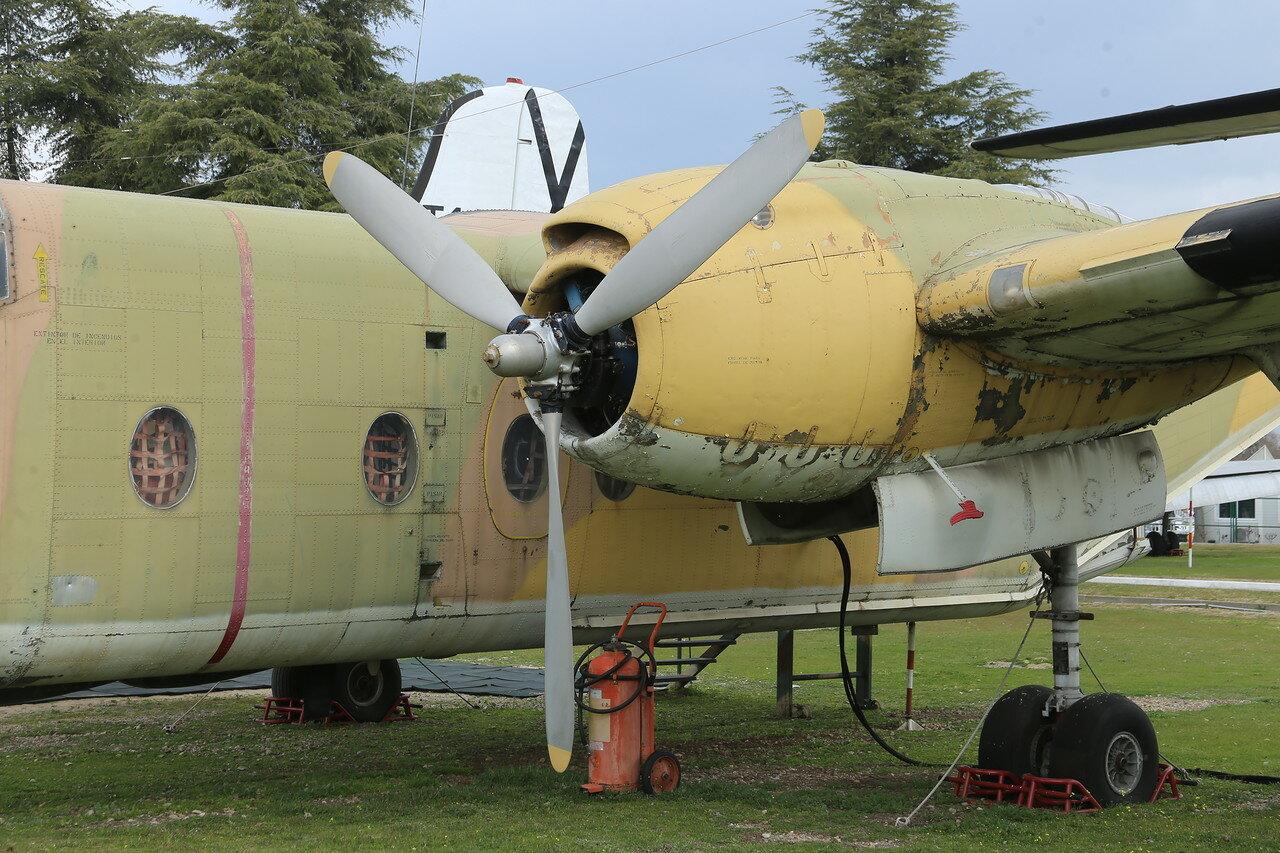 De Havilland Canada DHC-4 Caribou (Museo del Aire, Madrid)
