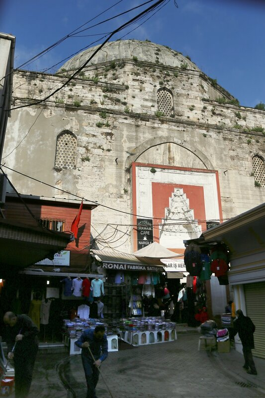 Стамбул. Бани Махмут-паши (Mahmutpaşa Hamamı)