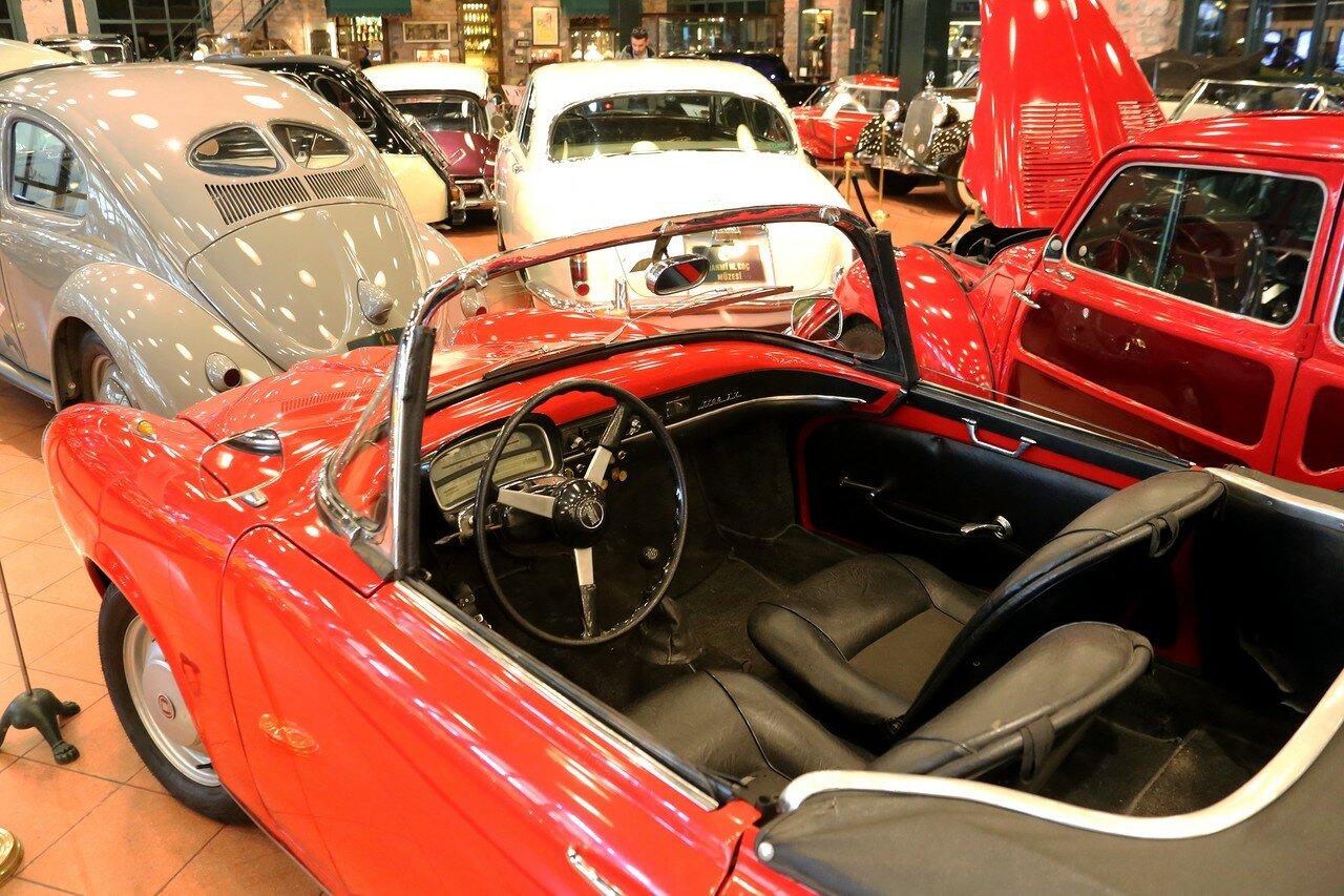 Стамбул. Музей Рахими Коча. Fiat 1100 Turismo Veloce 1959