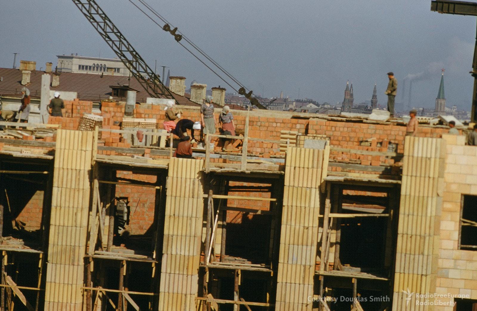 Строящееся здание на улице Чайковского, 18. 9 марта на сайте «Настоящего времени» была опубликована