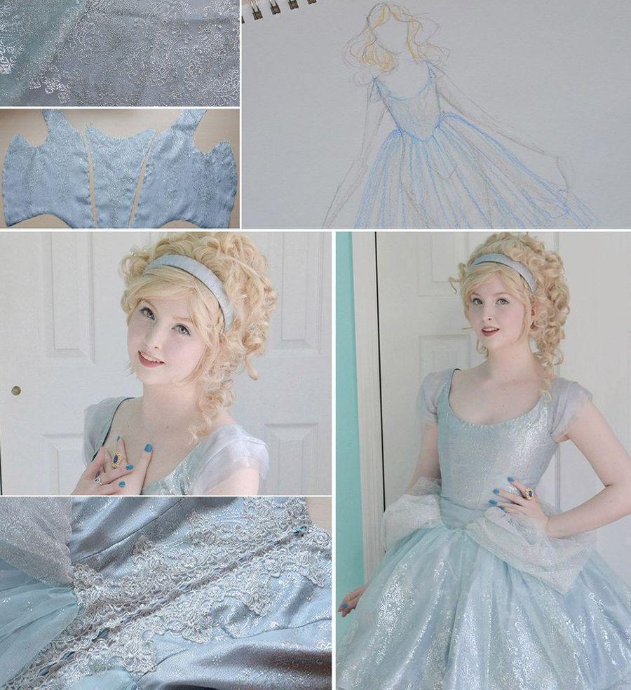 6. Платье Золушки.