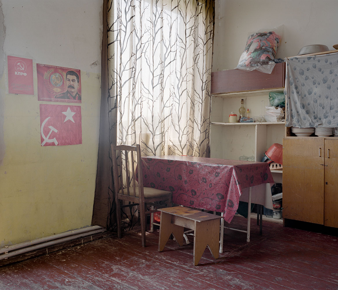 Комната молодой семьи в поселке Коджори примерно в 20 километрах от Тбилиси.