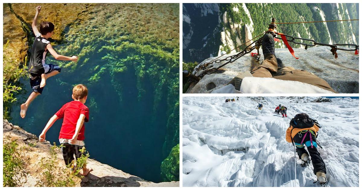 10 самых опасных туристических мест на нашей планете (33 фото)