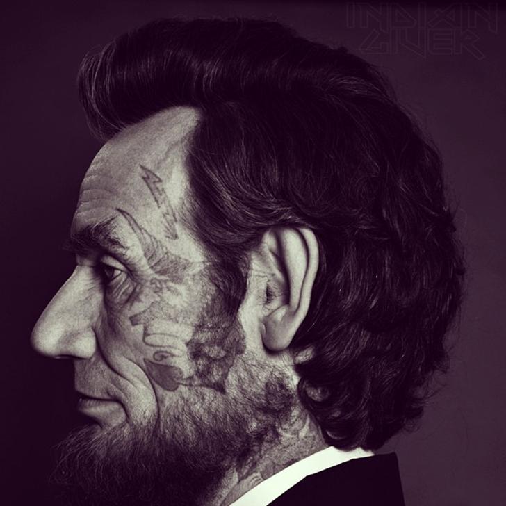 16-й президент США Авраам Линкольн.