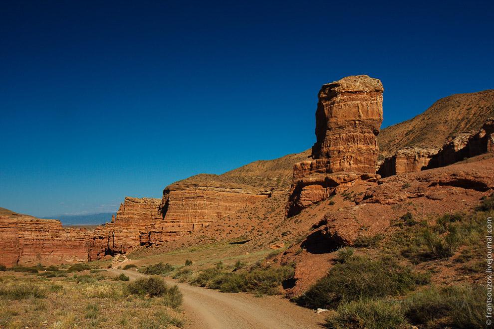 Дорога по каньону: