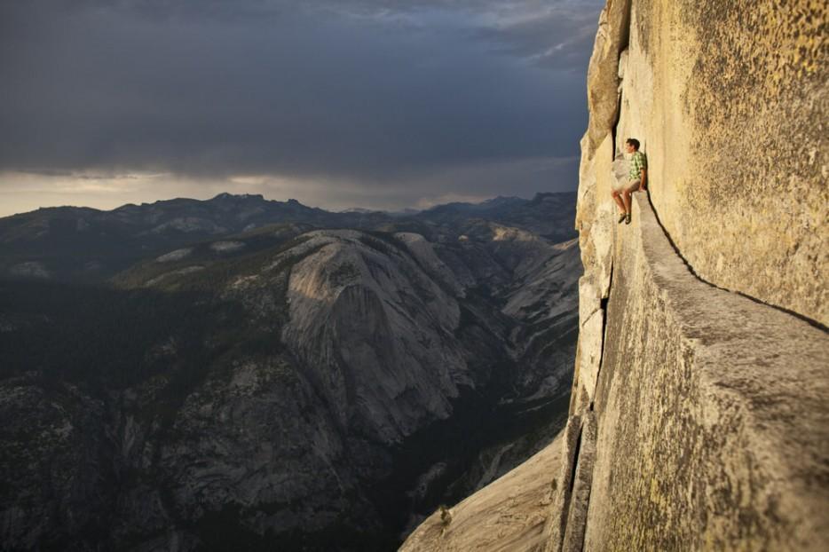 53. В самой высокой точке эта гранитная скала достигает высоты в 1432 м. На разных утесах много отли