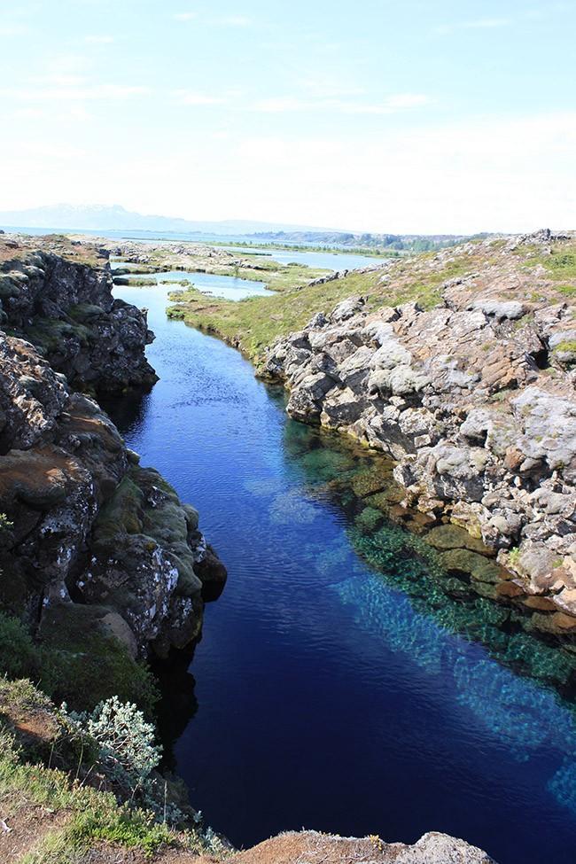 20. Проплывите между двумя континентами — Исландия В глубине этого огромного Национального парка нах