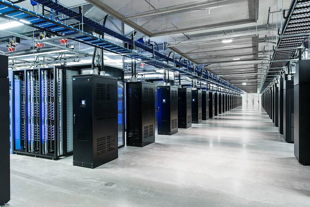 Системы охлаждения. (Фото Lulea Data Center):