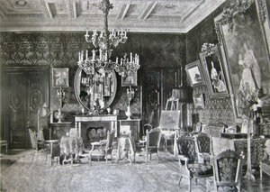 Усадьба «Гостилицы». Интерьеры дворца
