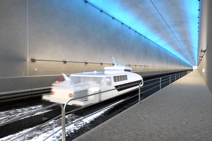 ВНорвегии построят 1-ый вмире морской тоннель для кораблей