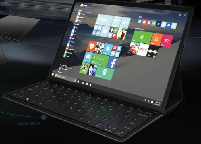 Lenovo показала концептуальный планшет Blade