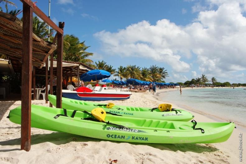 Отпуск на Карибах. Часть VI. Жизнь на острове Сен-Мартен — Франция.