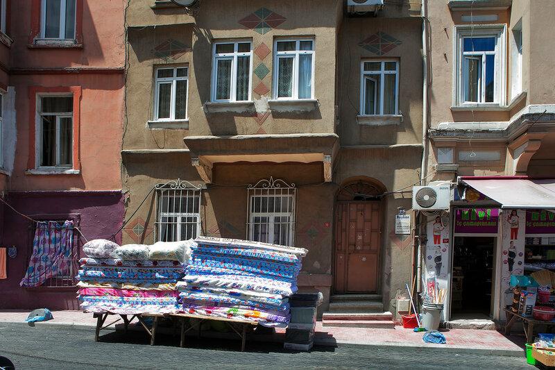 Old house in municipality of Belediye in Istanbul