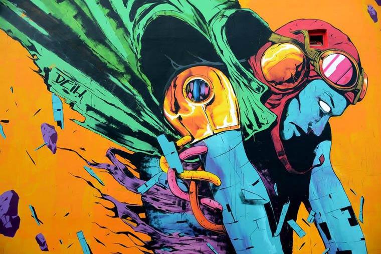 Street Art - The stunning creations by DEIH
