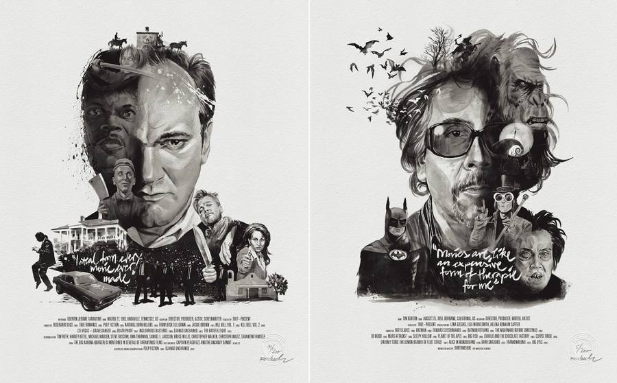 New Illustrated Posters of Famous Directors (22 pics)