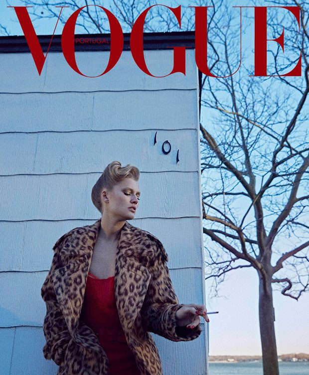 Toni Garrn Stars in the Cover Story of Vogue Portugal September 2017 Isssue