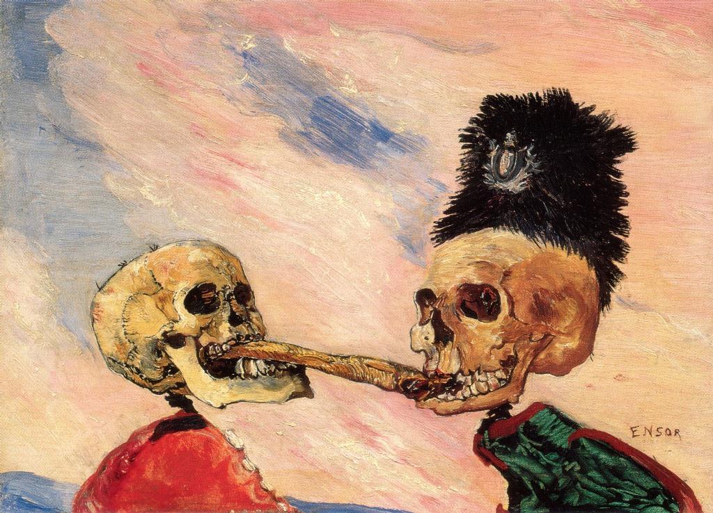 1-Живопись_James-Ensor_Skeletons-Fighting-Over-a-Pickled-Herring.-1891.jpg