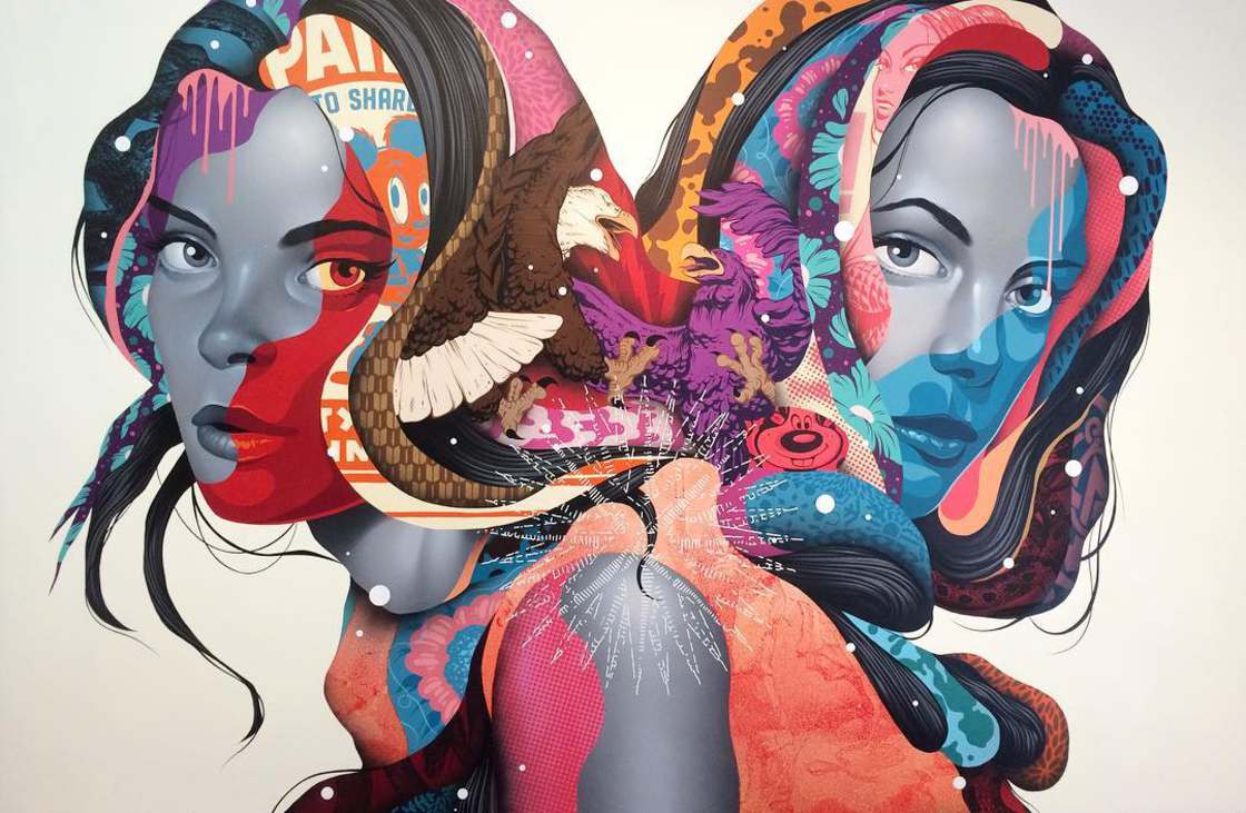 Street Art - The latest creations from Tristan Eaton