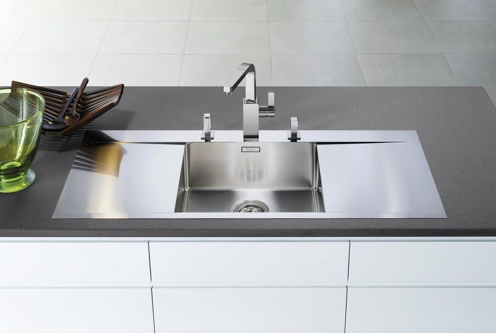 стальная мойка для кухни, купить в Краснодаре, сантехника кухонная