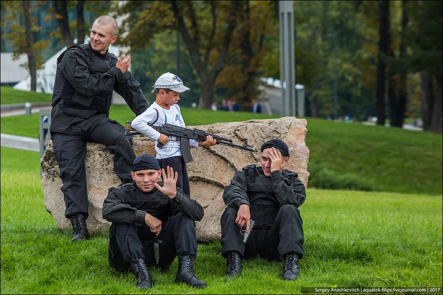 День танкиста в Минске
