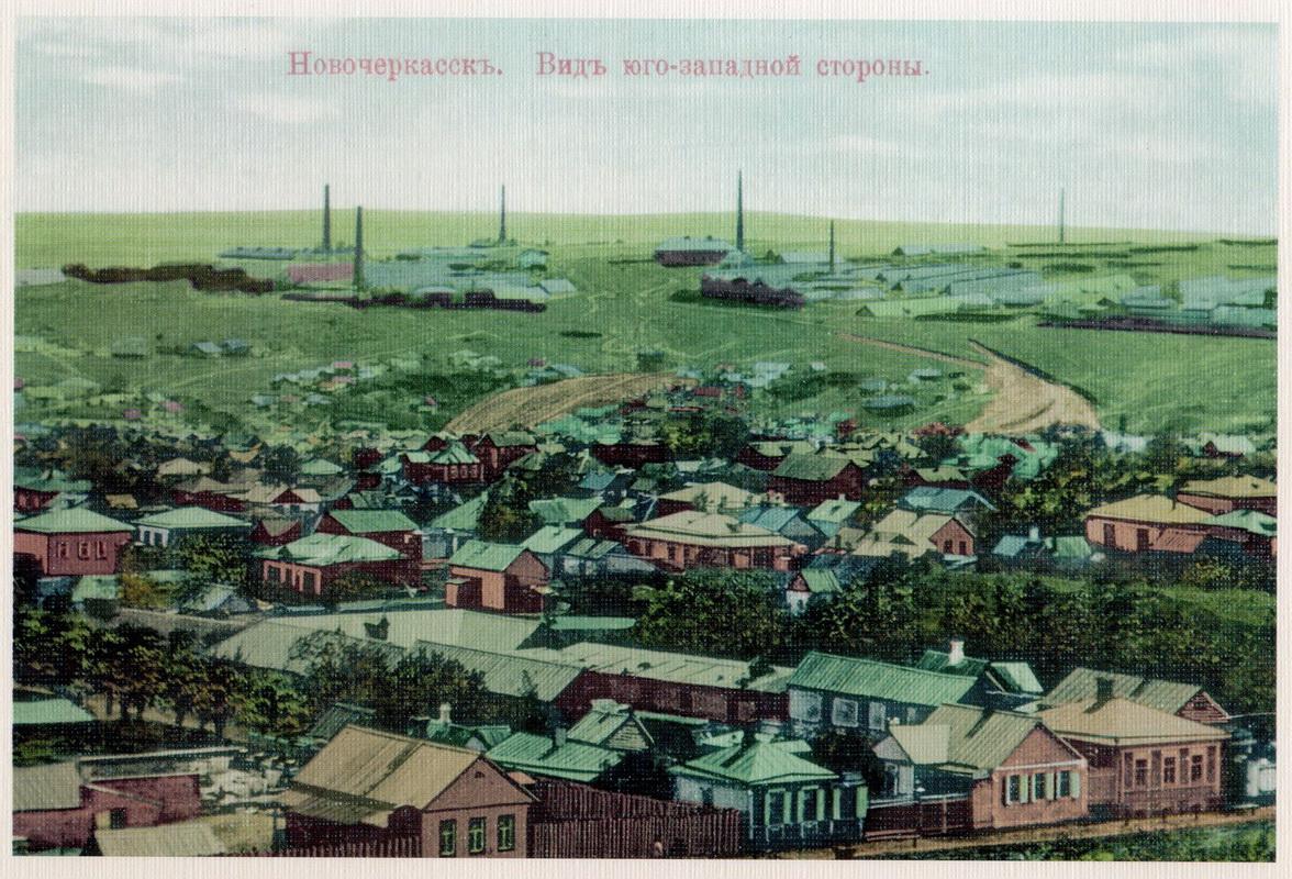 Вид юго-западной стороны