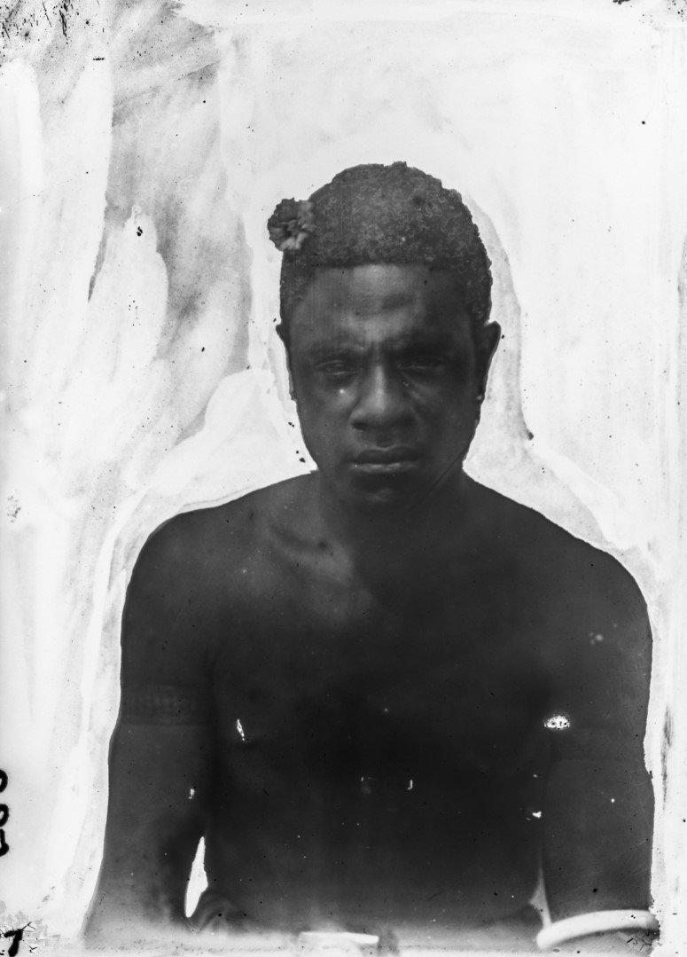 Антропометрические фотографии аборигенов