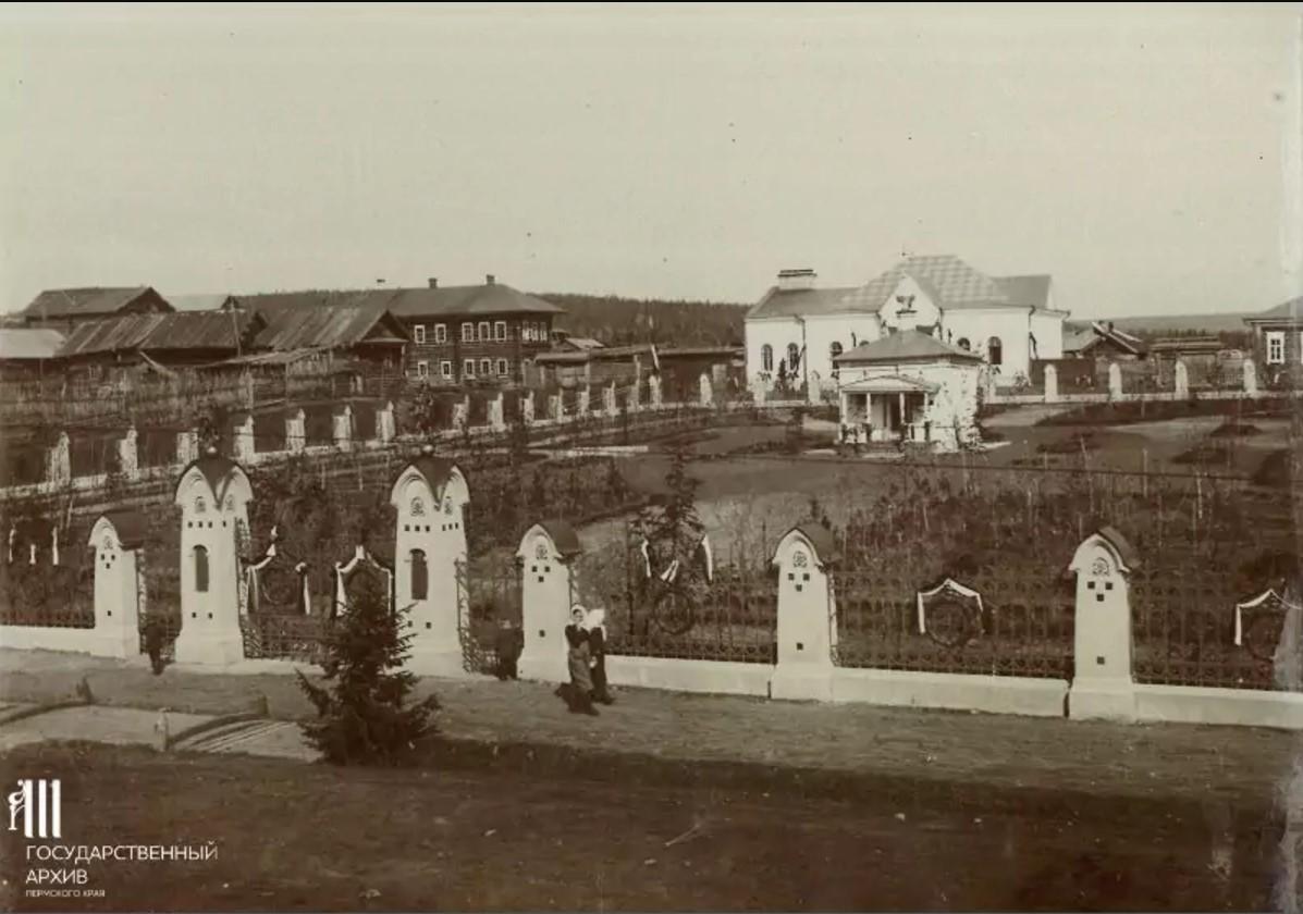 Часовня и здание богадельни