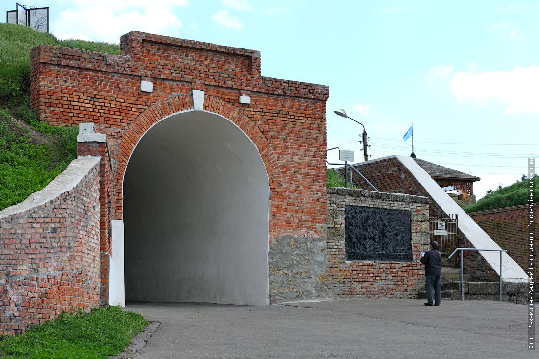 Алексеевские ворота Азовской крепости (XVIII век)