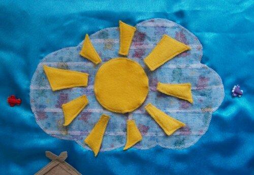Развивающий коврик для детей... детские развивающие игры ~ солнышко