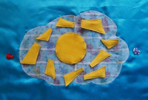 Развивающий коврик для детей... развивающие игры ~ солнышко