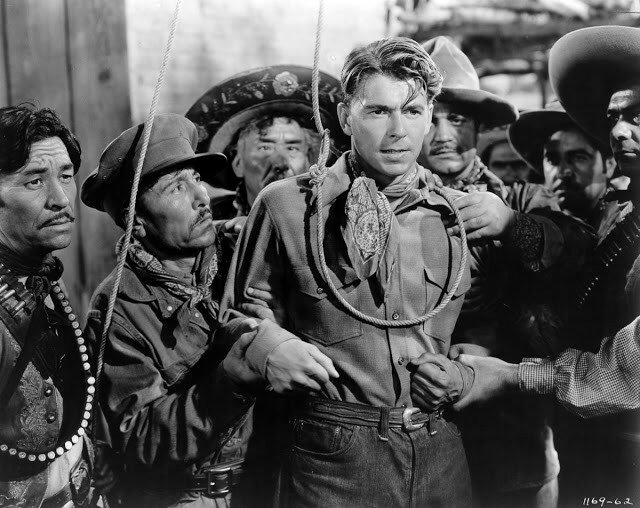 Reagan in The Bad Man, 1941.jpg