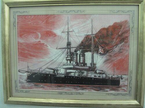 корабль, графика, Николай Матвиенко