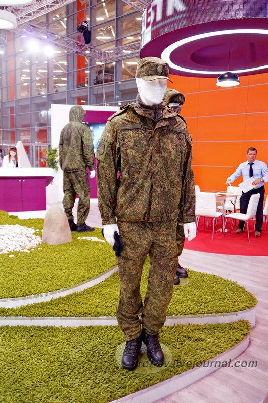 Новая форма военнослужащих. Выставка Комплексная безопасность 2014, Москва