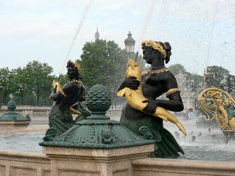 Площадь Согласия в Париже