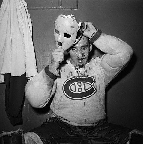 Hockey goalie mask template