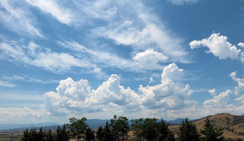 Облака в северной Калифорнии