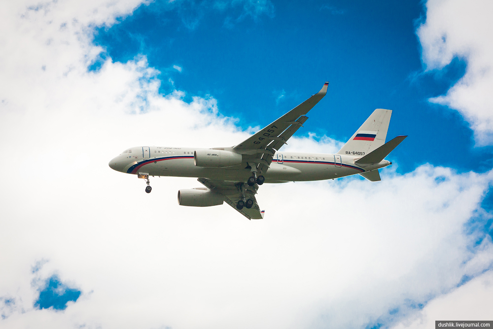 Споттинг в Баландино. Встреча самолёта премьер-министра