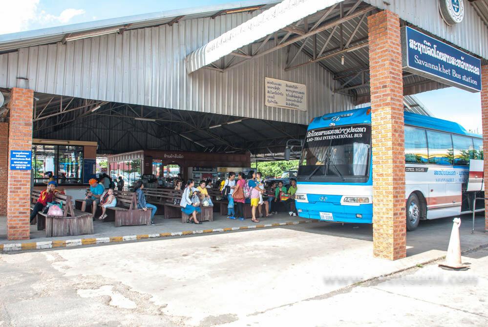 Автобусная станция Саваннакхета