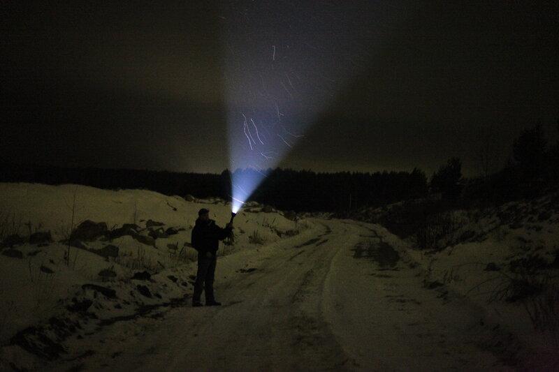 Супер яркий фонарик своими руками