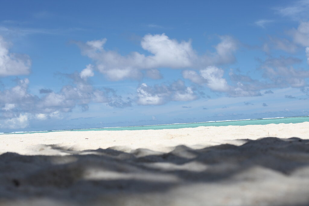 пляж на сан айленде