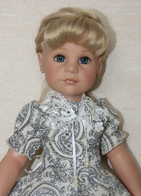 Потрясающие наряды для куклы!