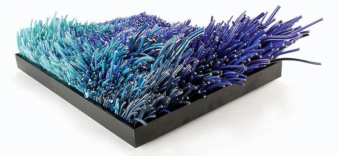 Стеклянные скульптуры Shayna Leib
