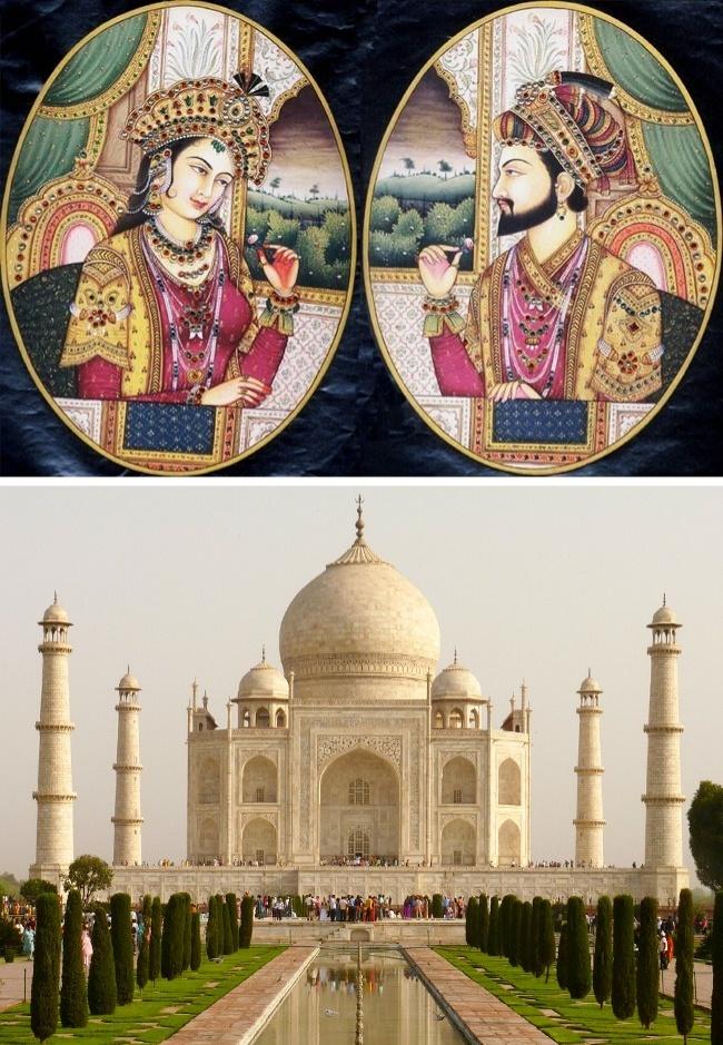 © wikipedia  © pixabay  После смерти любимой жены властитель Империи Великих Моголов Шах
