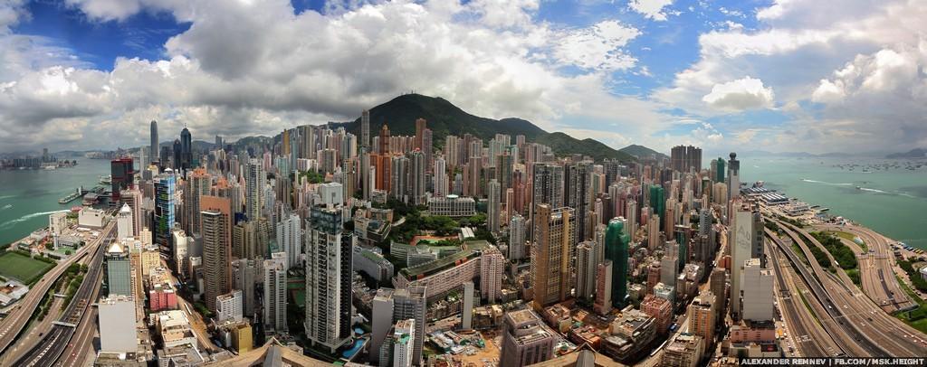 43. Панорама города.