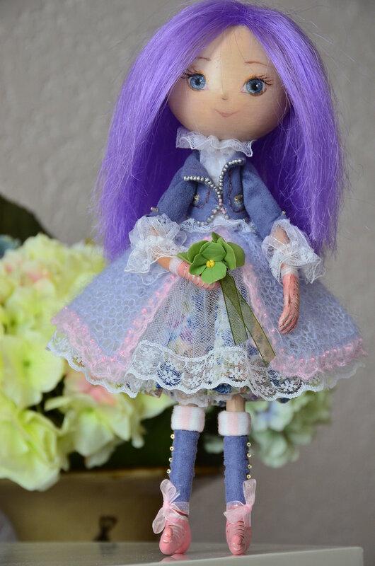 Авторские интерьерные куклы Илоны Лоик