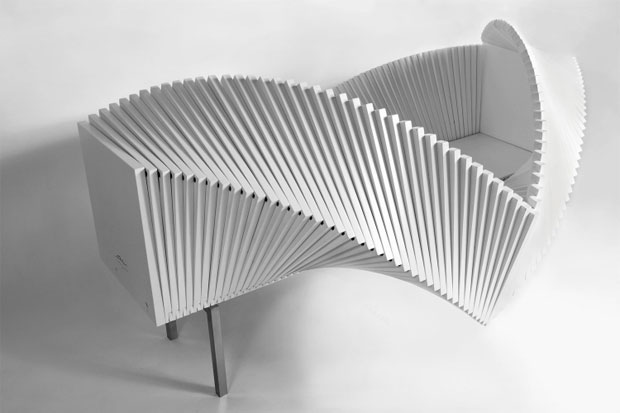 Discover The Wave Cabinet by Sebastian Errazuriz