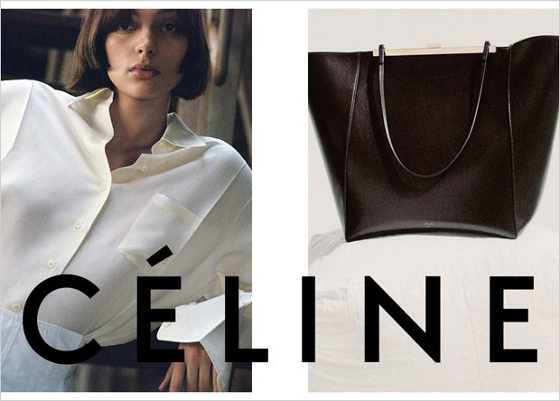 Charlee Fraser & Karly Loyce for Celine Pre-Fall 2017