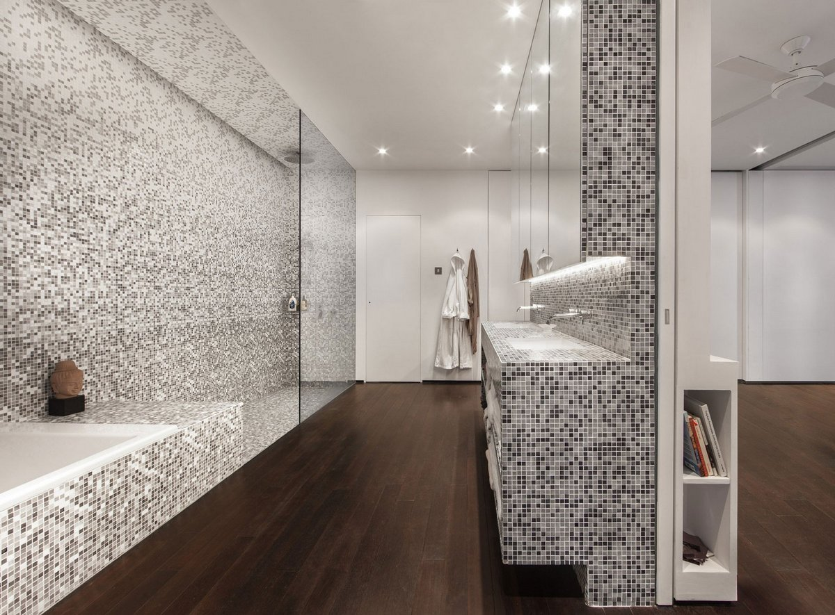 Комплекс WING, пентхаус с террасой, пентхаус в Гонконге, Laboratory for Explorative Architecture & Design, оформление квартиры фото, квартиры в Китае