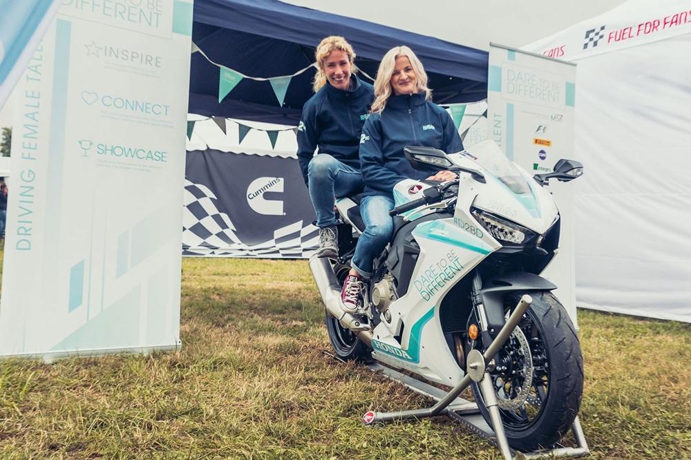 Тинмут и Костелло представили благотворительный мотоцикл Honda Fireblade